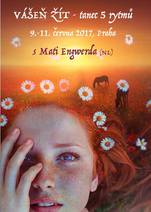 "taneční workshop ""Vášeň žít"" s Mati Engwerda"