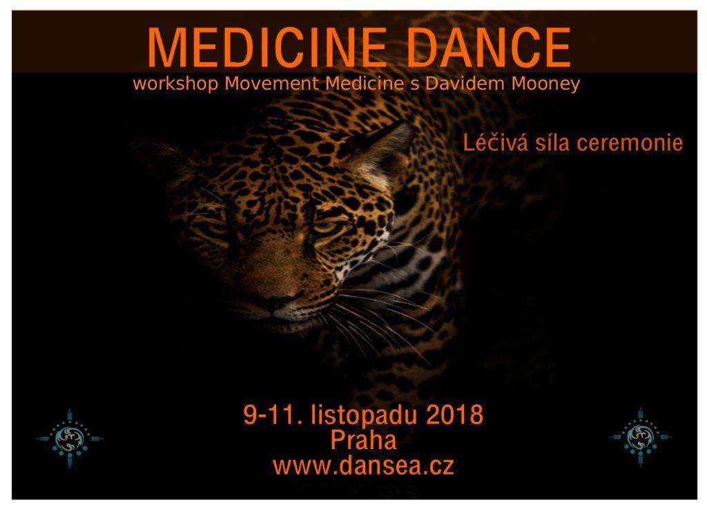 Medicine Dance Praha David Mooney